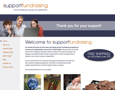isupportfundraising.com